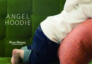 ファーストドレス ANGEL HOODIE ベロアパーカー