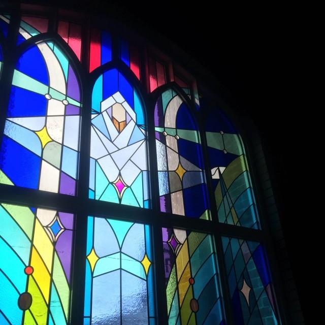川口基督教会 ステンドグラス