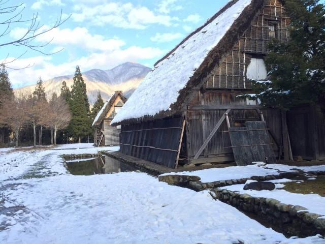 白川郷 雪 冬 2016
