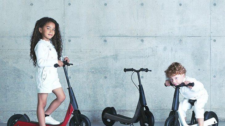 ブレーキをかけて事故回避!エアバギー新商品キック&スクート