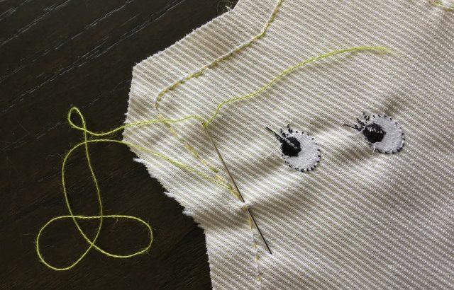 手縫い初心者が、アトリエのブランケットクリップを作ってみました!【ベビーアイテムハンドメイドキット】